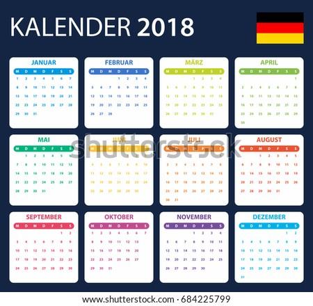 2018 islamic hijri calendar template design stock vector. Black Bedroom Furniture Sets. Home Design Ideas