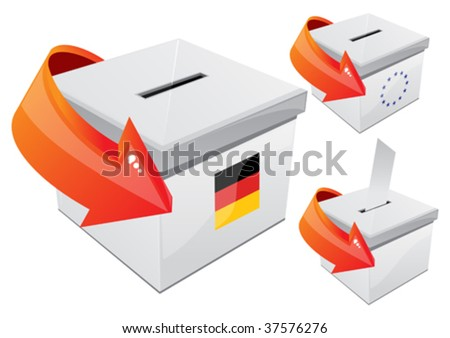 German elections, the selection box