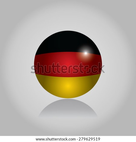 Germany Flag - stock vector