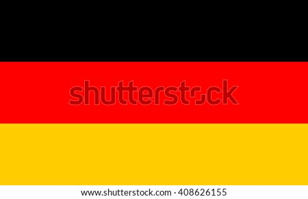 Germany flag, official colors and proportion correctly. National Germany flag. Germany flag vector. Germany flag correct. Germany flag drawing. Germany flag JPG. Germany flag JPEG. Germany flag EPS. - stock vector
