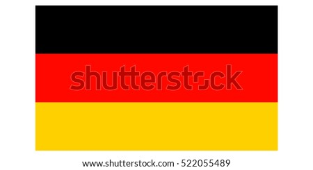 Germany flag vector.