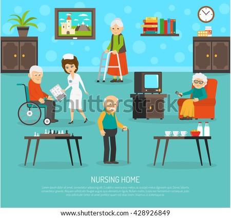 Nursing Home Pictures Clip Art Decor Ideas