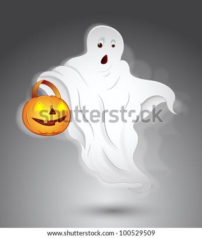 Ghost - stock vector