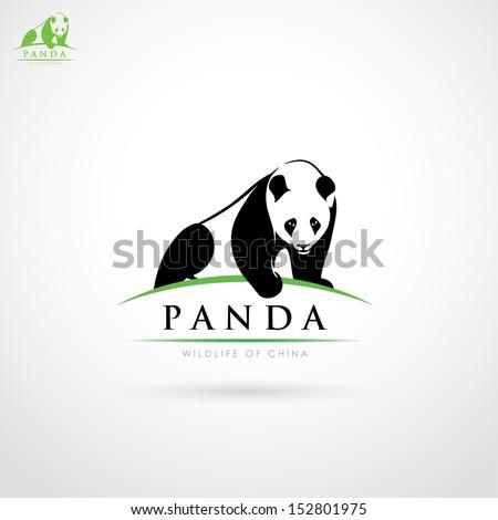 Chinese Panda Vector Giant Panda Vector