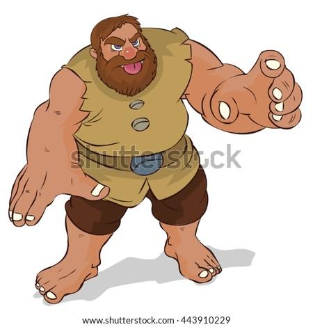 Giant Angry Cartoon 358801460 on Santa Claus Cartoon