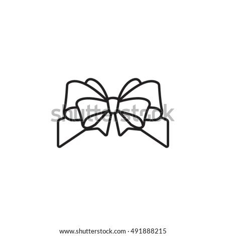 fancy outline ribbon bow darton bows wiring diagram