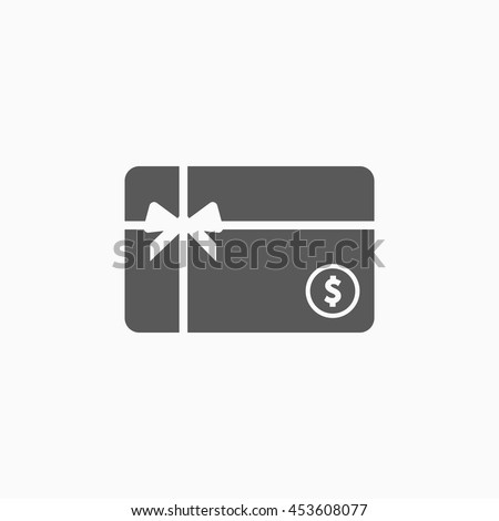 Gift card icon stock vector 453608077 shutterstock gift card icon negle Gallery