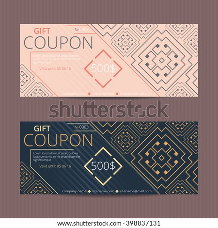 Designer greek coupons