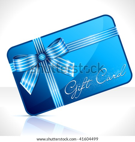 Gift Card. Vector Illustration