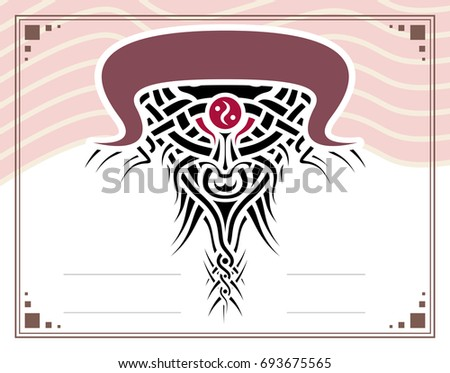 Collection frames certificates diplomas de jdrv sur shutterstock gift certificate diploma award template with border and celtic pattern and bull strips yadclub Images