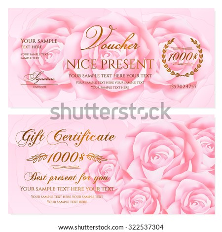 Doc508271 Sample Gift Card Gift Certificate Template Spa Gift – Sample Gift Card