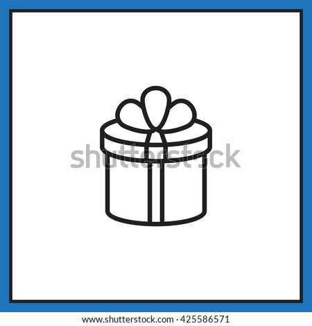 Gift icon, Gift icon eps 10, Gift icon vector, Gift icon illustration, Gift icon jpg, Gift icon picture, Gift icon flat, Gift icon design, Gift icon web, Gift icon art, Gift icon JPG, Gift icon image - stock vector