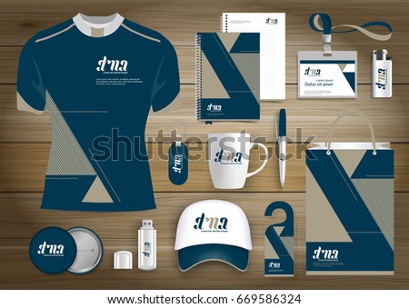 Gift items business corporate identity vector stock vector gift items business corporate identity vector abstract color promotional souvenirs design with origami elements for negle Image collections