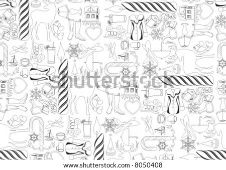Gift paper for any kind of package - stock vector