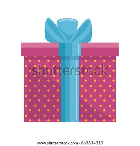Greeting card template pile cute gift stock vector 485331109 gift present box negle Gallery