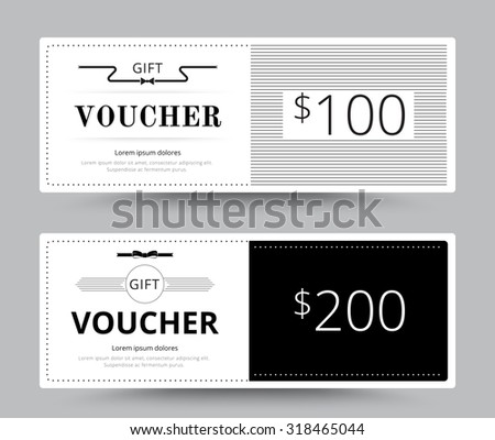 Gift voucher card business voucher template stock vector 318465044 gift voucher card business voucher template vector illustration cheaphphosting