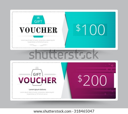 Gift voucher card business voucher template stock vector 318465047 gift voucher card business voucher template vector illustration accmission Choice Image