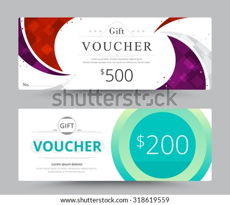 Coupon Card Photos RoyaltyFree Images Vectors Shutterstock – Business Voucher Template
