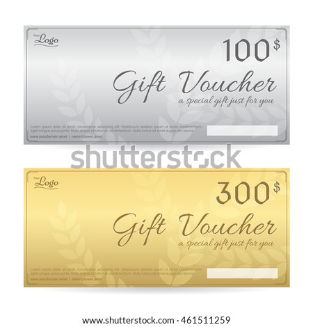 Gift Certificate Voucher Coupon Template Guilloche – Voucher Certificate Template