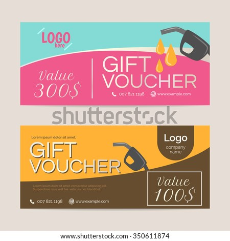 Gift Voucher Template , Eps10 Vector Format  Gift Voucher Format