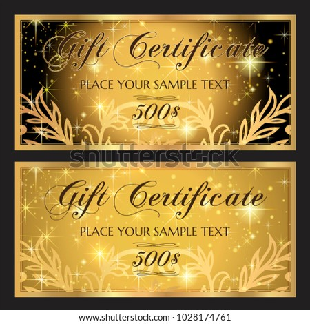 gift voucher template printable christmas gift certificate layout birthday coupon template editable