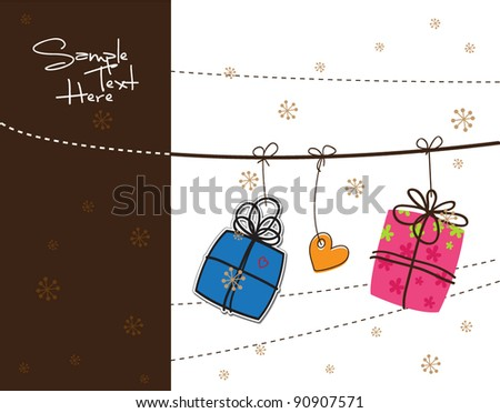 Gifts and clothesline