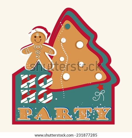 Gingerbread   - stock vector