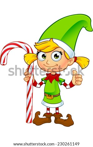 Christmas Elf Girl Stock Photos, Royalty-Free Images & Vectors ...