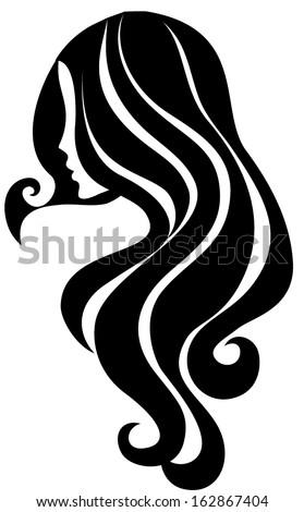 girl icon stock vector 162867404  shutterstock