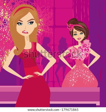 Jealousy Clipart and Stock Illustrations. 748 Jealousy ...   Jealous Women Clipart