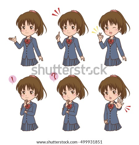 Anime Girl Stock Images Royalty Free Images Amp Vectors