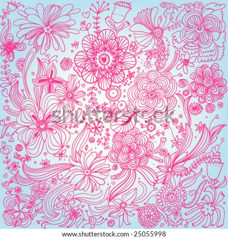 Glamour vector background