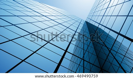 Glass and steel. Abstract vector illustration.