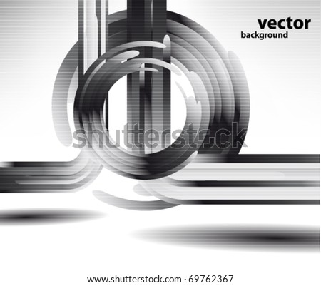 Glass vector shapes
