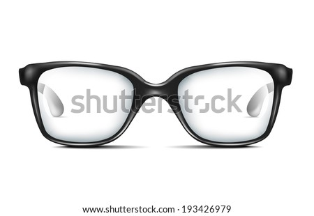 Glasses - stock vector