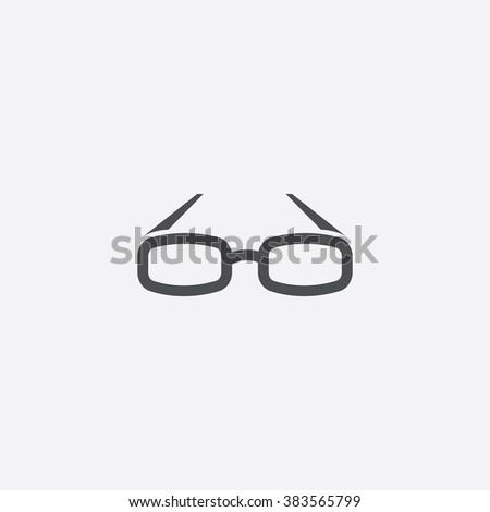 glasses Icon. glasses Icon Vector. glasses Icon Art. glasses Icon eps. glasses Icon Image. glasses Icon logo. glasses Icon Sign. glasses Icon Flat. glasses Icon web. glasses icon app. glasses icon UI - stock vector