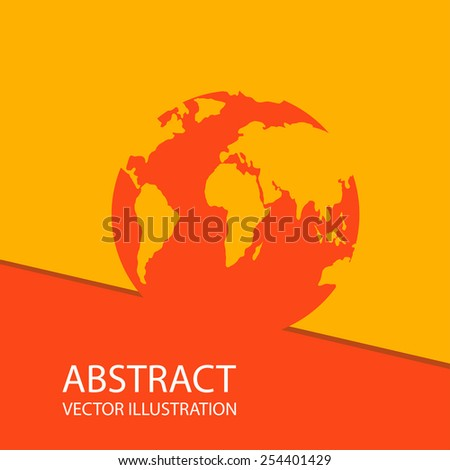 Global earth planet abstract network vector logo design template. Internet communications network creative concept icon. - stock vector
