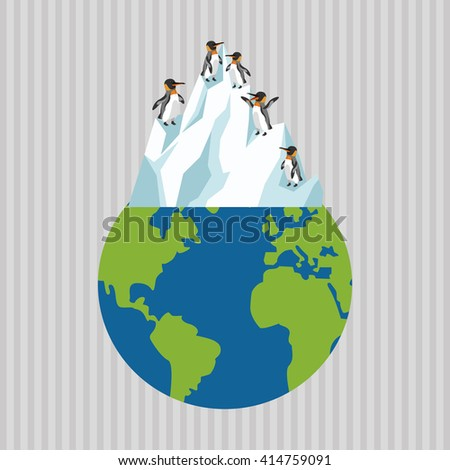 Global warming design. Environment icon.ecology concept