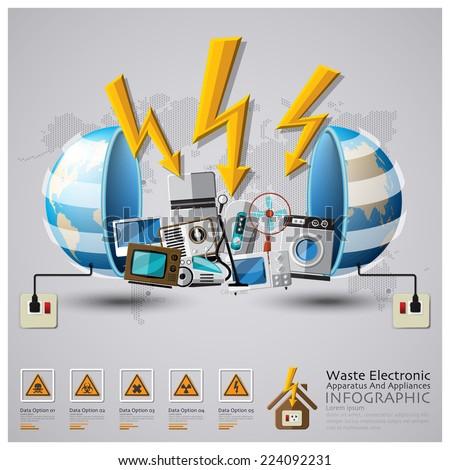 Hazardous waste stock illustrations cartoons shutterstock for Household waste design