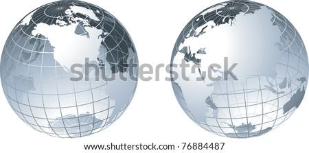 Globe - stock vector