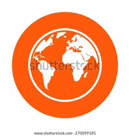 Globe icon. - stock vector