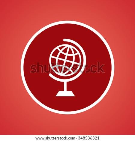 Globe Icon - stock vector