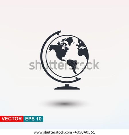 Globe icon, Globe icon eps, Globe icon art, Globe icon jpg, Globe icon web, Globe icon ai, Globe icon app, Globe icon flat, Globe icon logo, Globe icon sign, Globe icon ui, Globe icon vector, Globe - stock vector