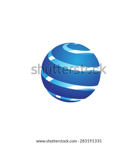 globe icon globe symbol globe template globe illustration earth  - stock vector