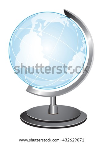 Globe icon. Quality vector icon
