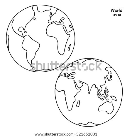 90 Click The Daily Planet Globe Coloring Pages