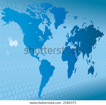 Globe Word Map of Earth Background  A dynamic 3d world map with background.