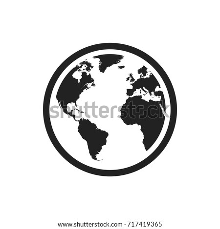 World map web design globe vectores en stock 593642801 shutterstock globe world map vector icon round earth flat vector illustration planet business concept pictogram gumiabroncs Image collections