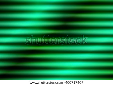 Glowing Green Abstract Background - stock vector