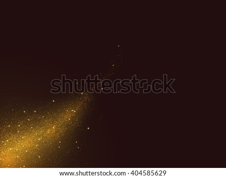 Glowing mystery vector background. - stock vector